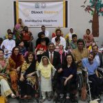 Group Picture of Direct Support Wheelchair Distribution 2018