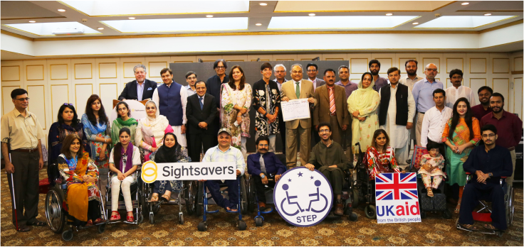 Group picture of Disability Global Summit [Special Talent Exchange Program (STEP)]