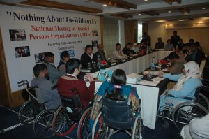 National Meeting of Disabled Persons Organizations 2010