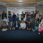 Group Picture of National Meeting of Disabled Persons Organizations 2010