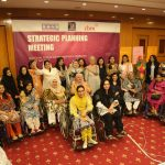 Group Picture of National Forum of Women with Disabilities (NFWWD) Strategic Planning Meeting
