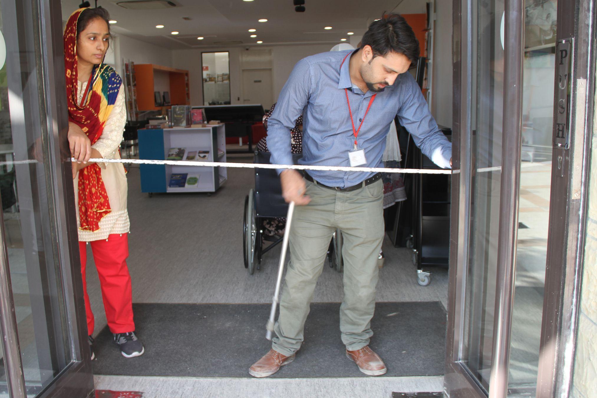British Council Karachi Office Accessibility Audit Picture