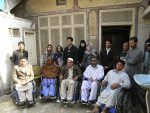 Group Picture at Wheelchair Distribution Nowshera 2011